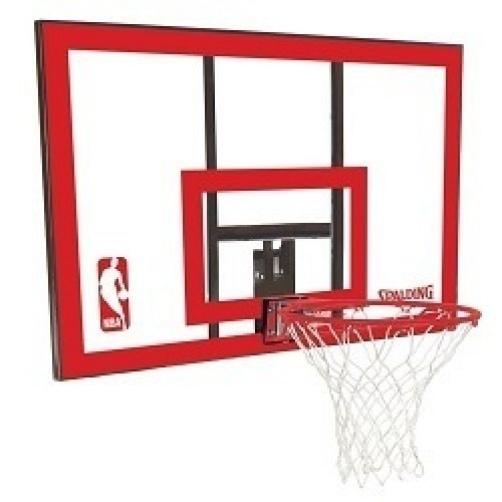 Spalding basketball backboard and rim combo 79351 44 in polycarbonate - Panier de basket gonflable ...
