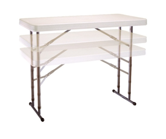 ... Assets/images/80161 Lifetime Adjustable Table Showing Adjustable Height  ...