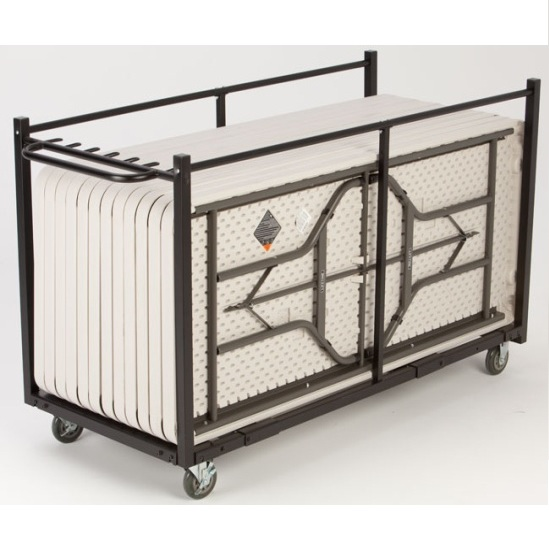 Lifetime 80193 Heavy Duty Table Cart On Sale With Free