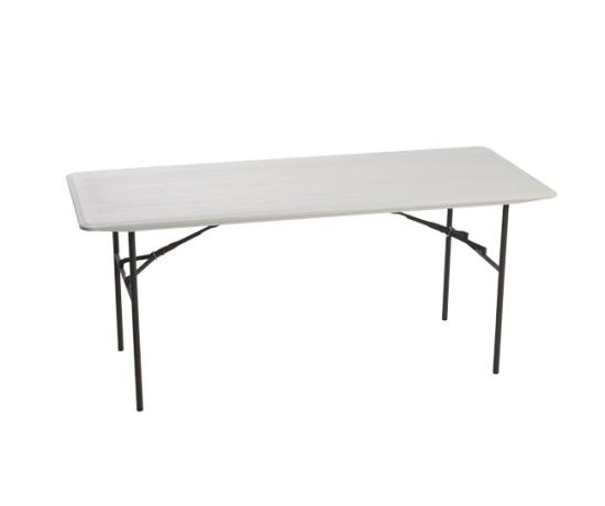 lifetime products folding tables 80291 6 ft almond plastic table. Black Bedroom Furniture Sets. Home Design Ideas