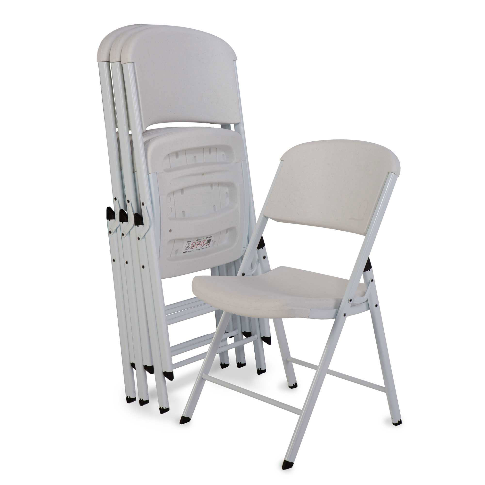 Lifetime White Wedding Chair 32 Pack on Sale with Fast Shipping
