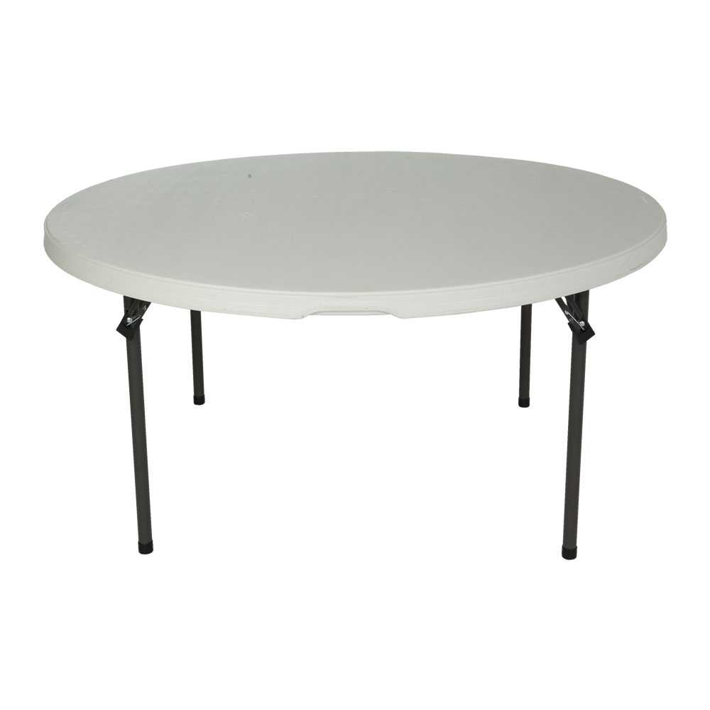 """Lifetime Lifetime 60"""" Round Banquet Table for School and Church"""