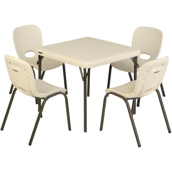 lifetime 80437 childrens folding table and 4 stacking chairs. Black Bedroom Furniture Sets. Home Design Ideas