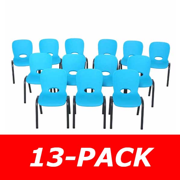 80475 Children S Stacking Chair 13 Pack On Sale With Free