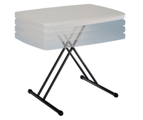 Lifetime Personal Adjustable Folding Tv Trays Tv Tray Tables