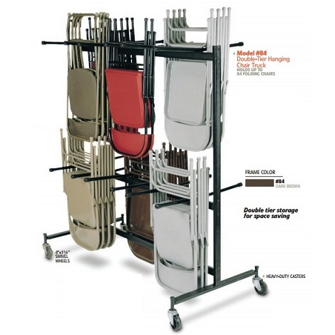 NPS 84 Caddy Chair Storage Cart on Sale with Fast and Free Shipping