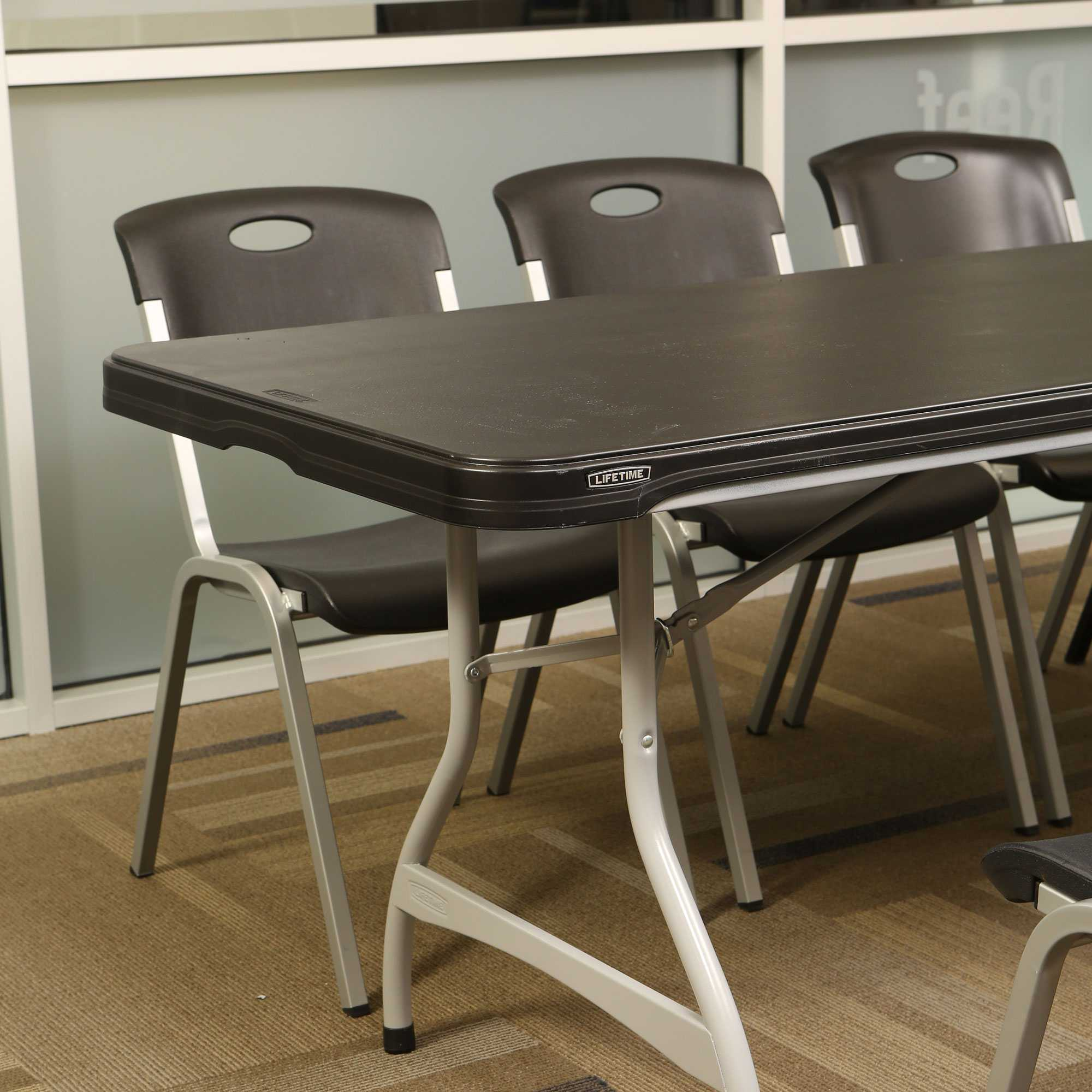 Lifetime 880462 Black 8 Table 27 Pack On Sale With Free