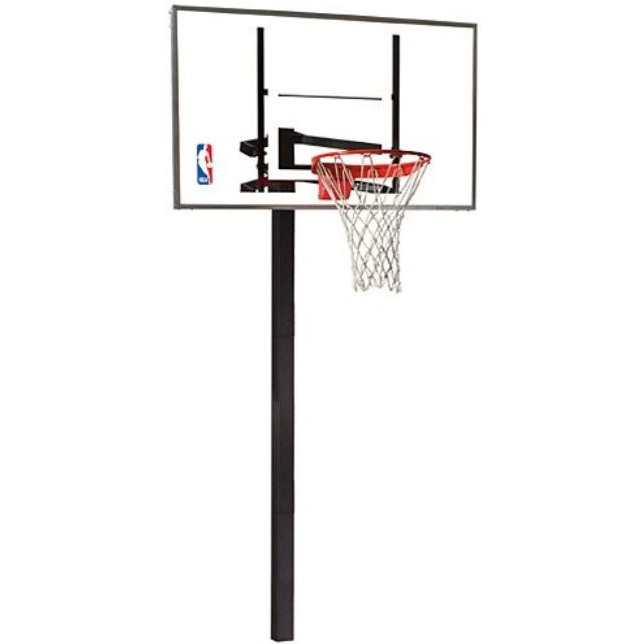 Spalding 88454g Inground 54 Glass Basketball Hoop On Sale Today