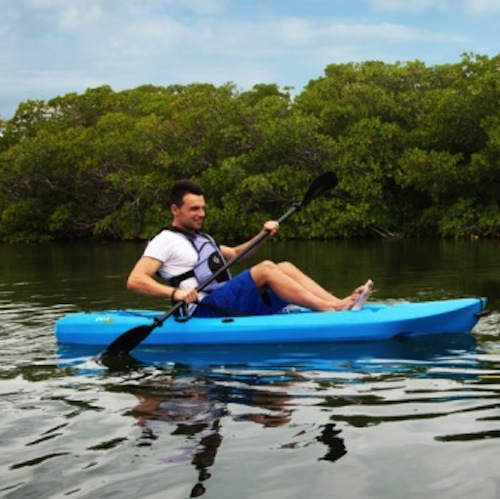Lifetime 90112 Blue Lotus 8 Ft Kayak On Sale With Fast