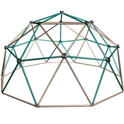Lifetime Playground Equipment Children's Geo Dome Climber Playground Equipment Earth Tones
