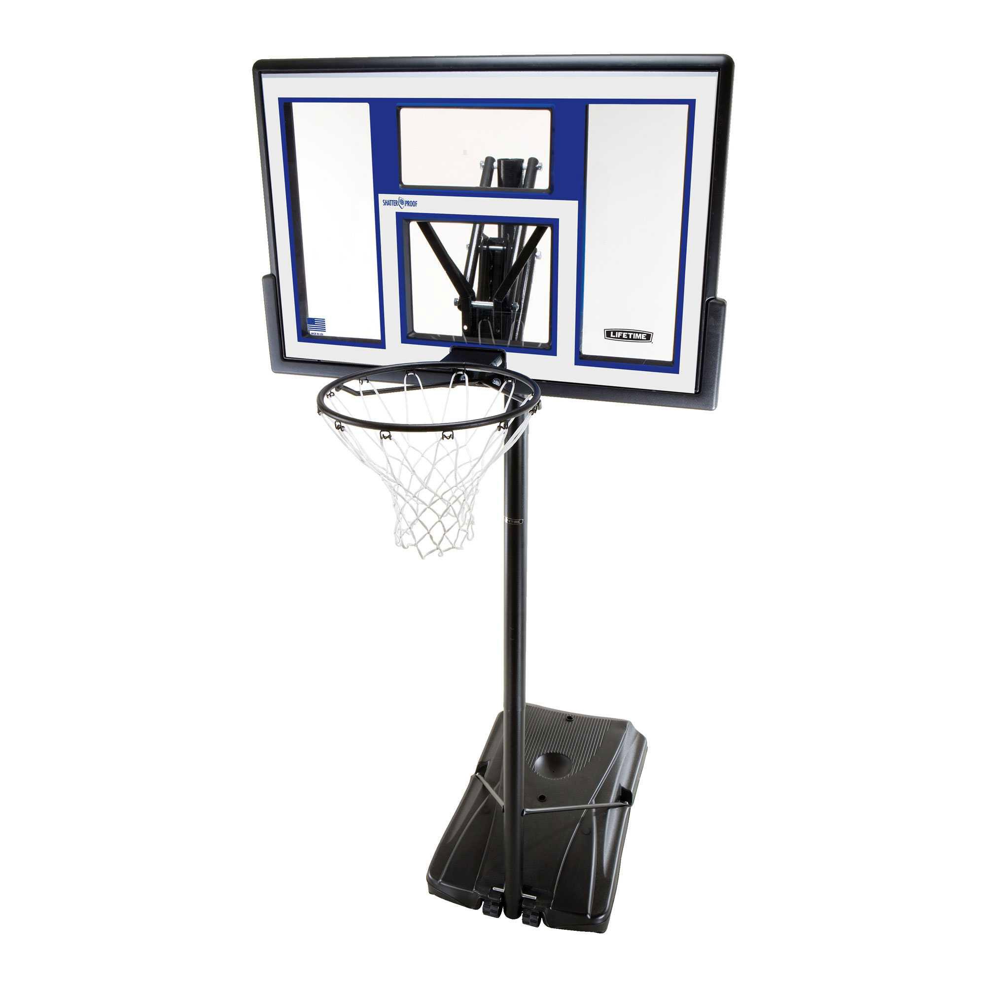 Lifetime Portable Basketball Goals 90168 48-in ...