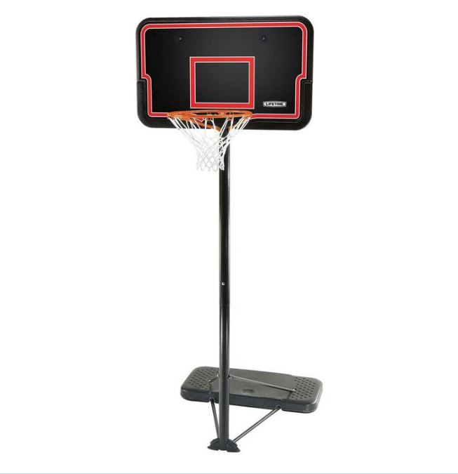 Lifetime Portable Basketball System 90171 44-inch Impact ...