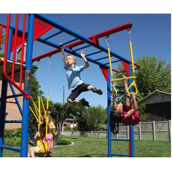 Lifetime 90177 Monkey Bar Playground Slide Amp Swings
