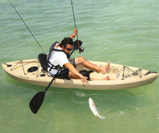 Lifetime 90237 Tamarack Angler Kayak 120