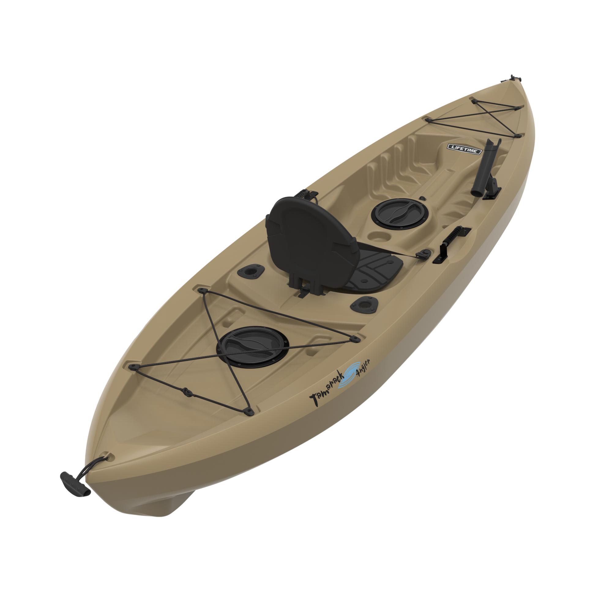 2 Pack Lifetime Muskie Angler Kayak On Sale Free