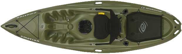 Lifetime 90259 Renegade Xt Kayak Olive Green On Sale