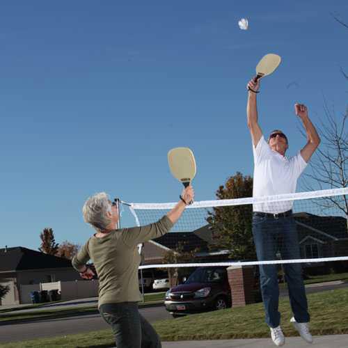 Lifetime 3 Sports 90421 Tennis Badminton Pickleball Net