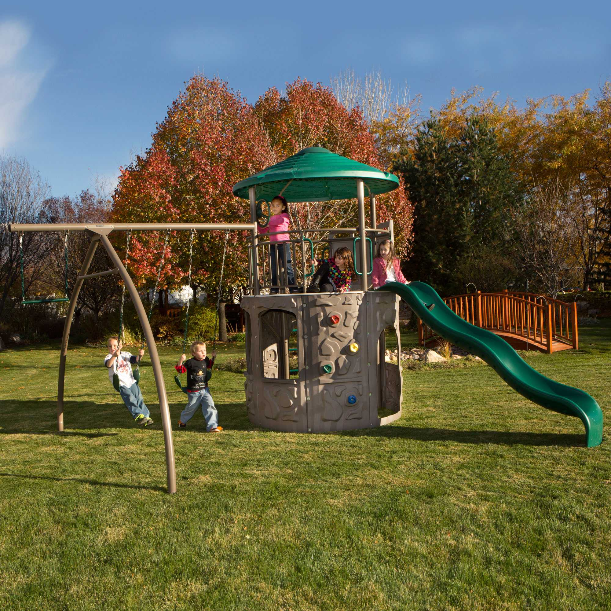 Lifetime 90440 Adventure Tower Playground On Sale With