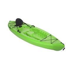 Lifetime 10 39 tamarack lime green kayak for Tamarack fishing kayak
