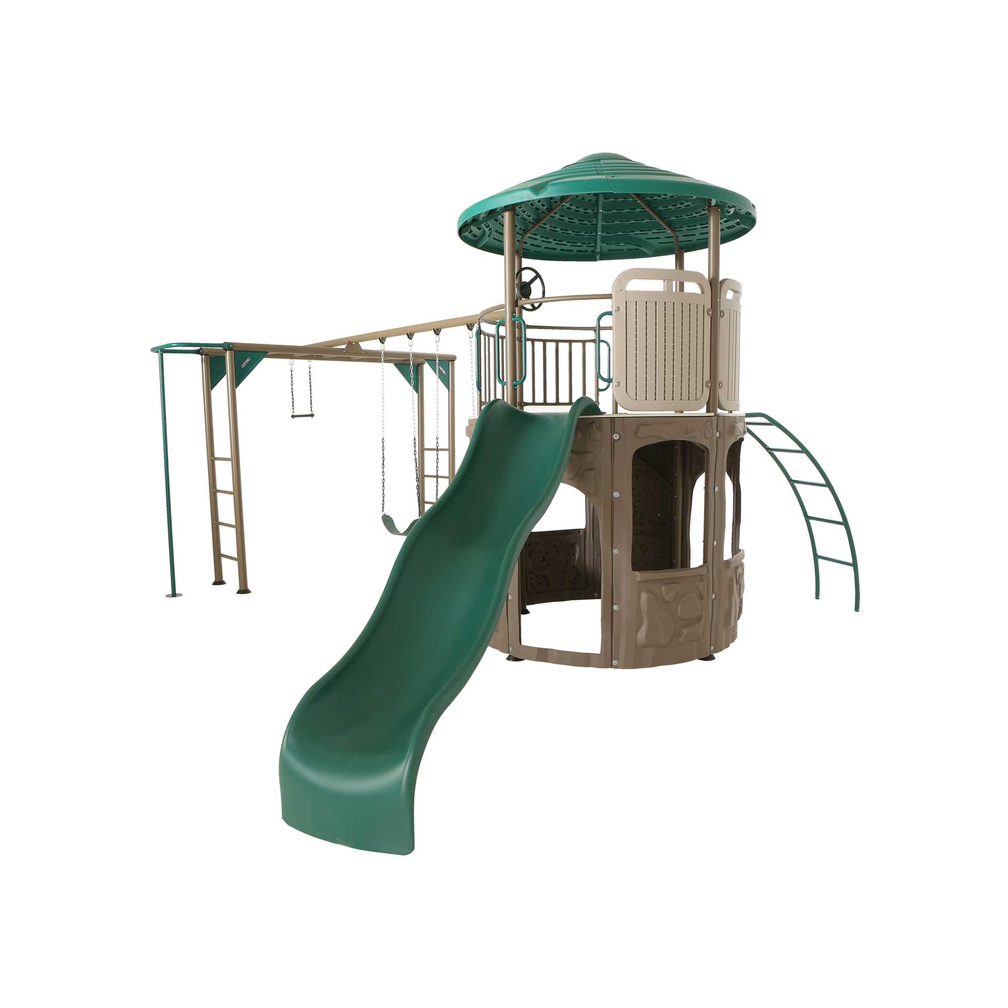 Lifetime 90630 Adventure Tower Playground Deluxe With