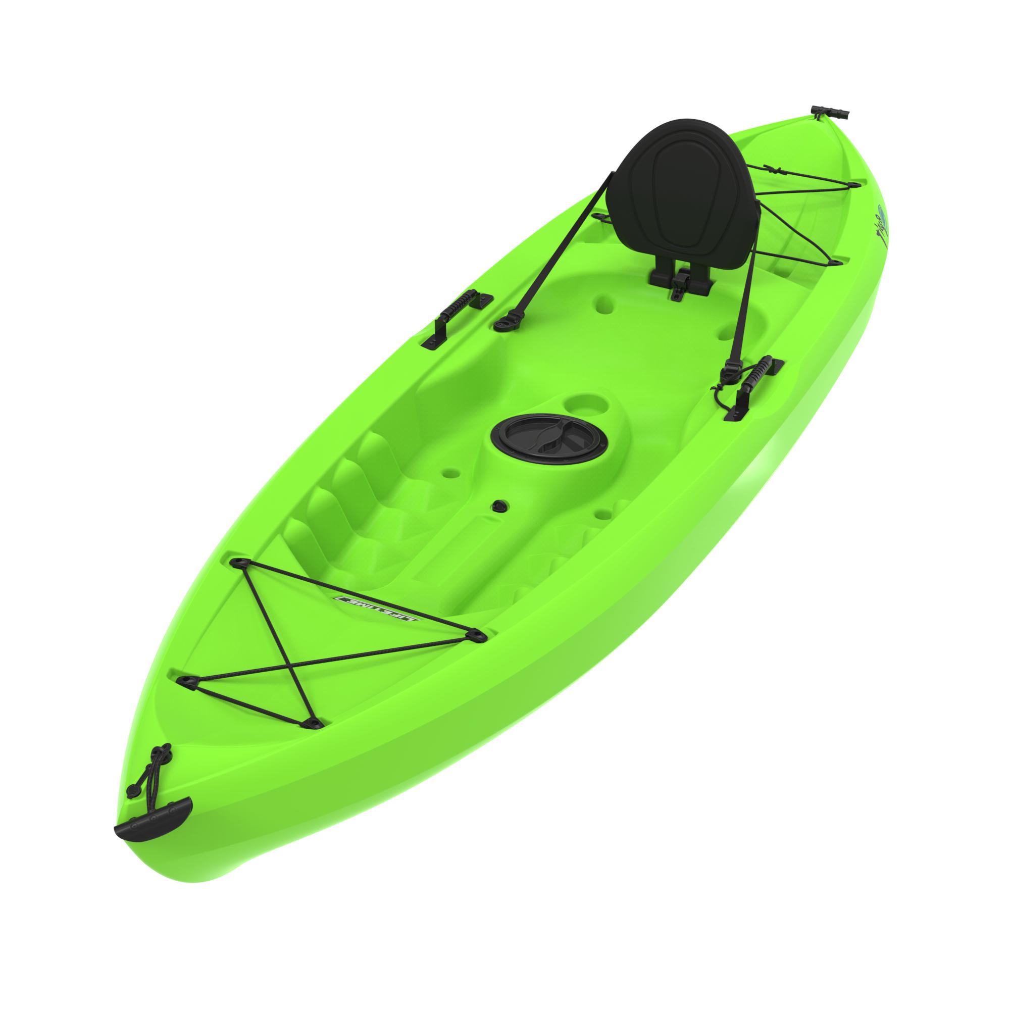 90534 Lifetime 10 Tamarack Lime Green Kayak