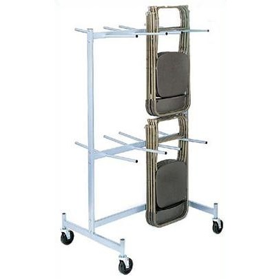 folding chair storage cart truck raymond products compact