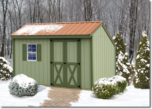 Best Barns Aspen 8x12 Wood Shed Kit Diy On Sale With Fast
