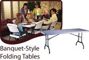 Rectangular 6 Foot Tables