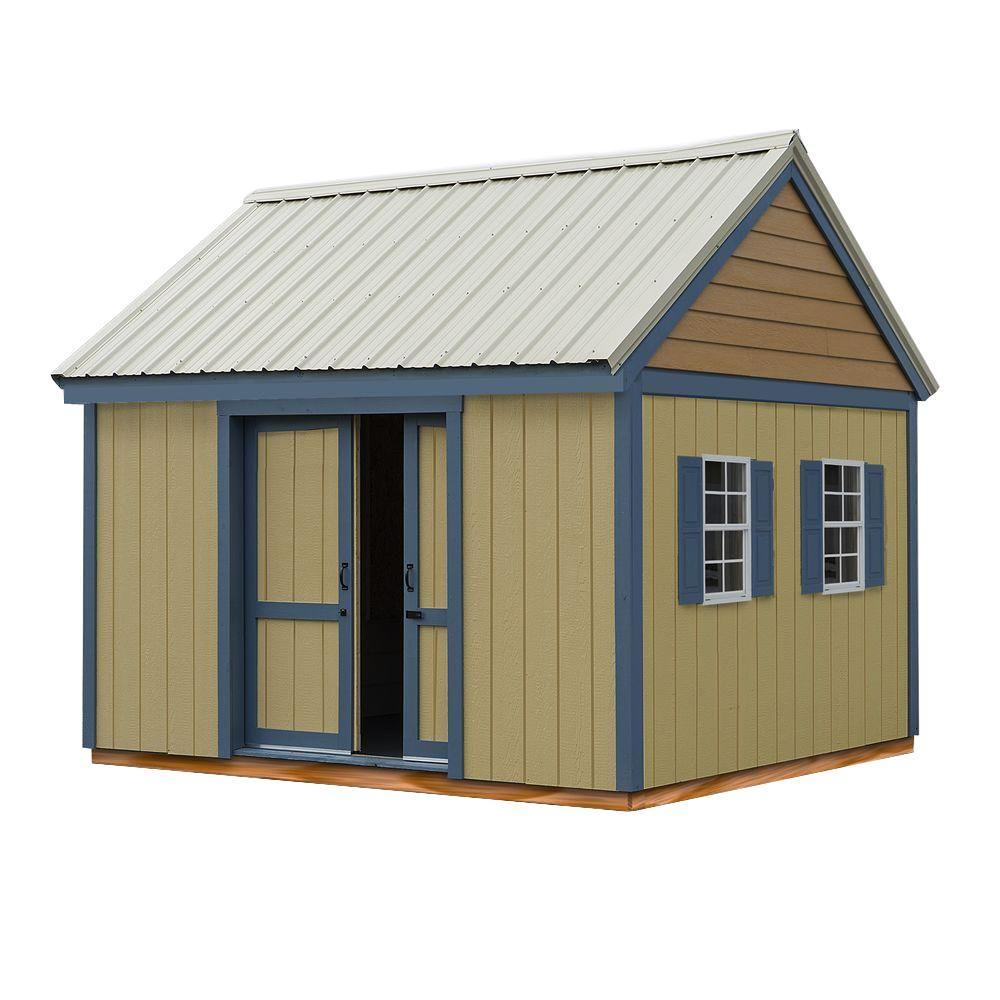 Best barns reynolds building systems brookhaven 10x12 for Barn storage sheds