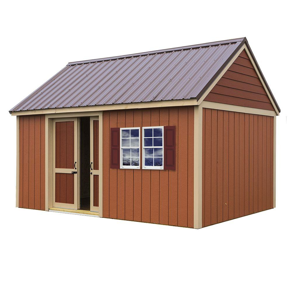 Wood Shed Kit With Floor