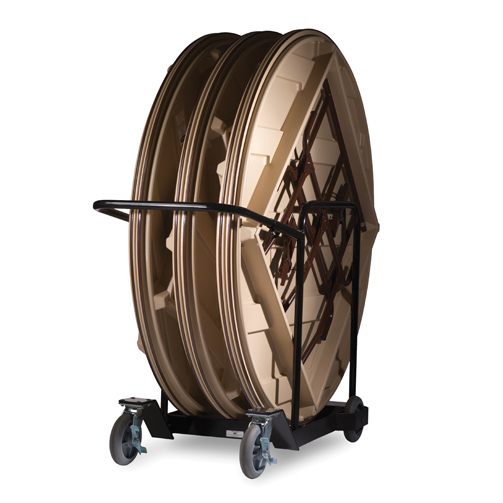 Mity Lite Ct Cart Table Storage Cart For 72 Inch Round