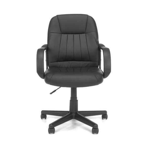 OFM Essential Series E1007 Black Vinyl Executive ...