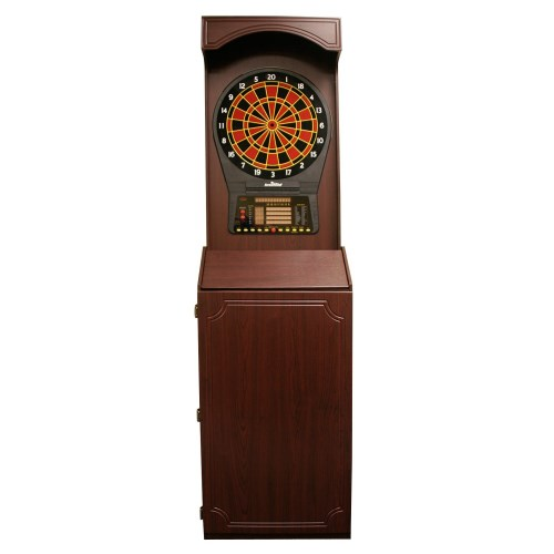 Cricket Pro 800 Electronic Arcade Style Cabinet Dart Board