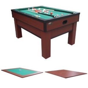 In 1 Bumper Pool Table Rhino Play Dining Card Table Combo
