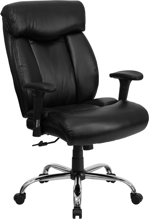 Big and Tall Office Chairs - Hercules Series Leather ...