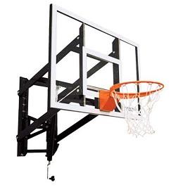 Goalsetter Wall Mount Adjustable Basketball Hoop GS54 54 Acrylic Goal