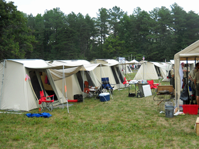Kodiak Tents and Boy Scouts