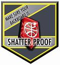 Make sure your backboard is Shatter Proof