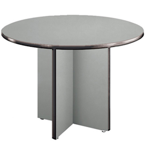 ofm t42rd conference 42 round office laminate surface table