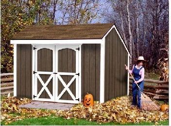8 ft. shed kits