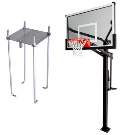 Bolt-Down Basketball Goals