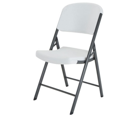 Lifetime Plastic Folding Chairs 32 Pack