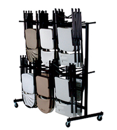 Correll C84 C Hanging Folding Chair Cart And Coat Rack