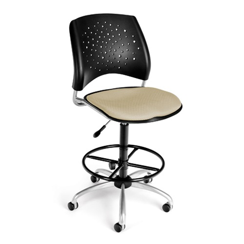 Ofm 326 Dk Stars Swivel Office Chair With Drafting Kit