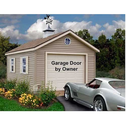 Best Barns Greenbriar 12'x16' Wood Garage Barn Kit