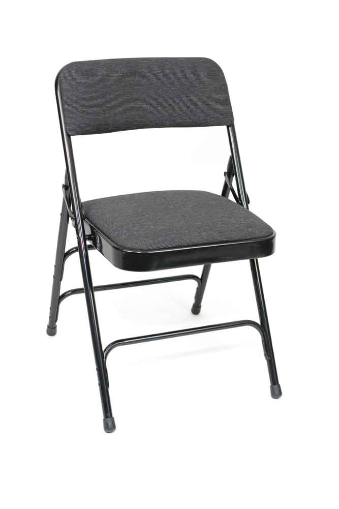 Metal Folding Chairs ACT Mc309af Upholstered Premium Seat 100 Pack
