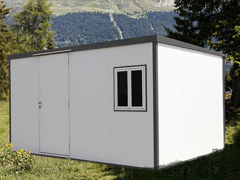 Modular Insulated Shed