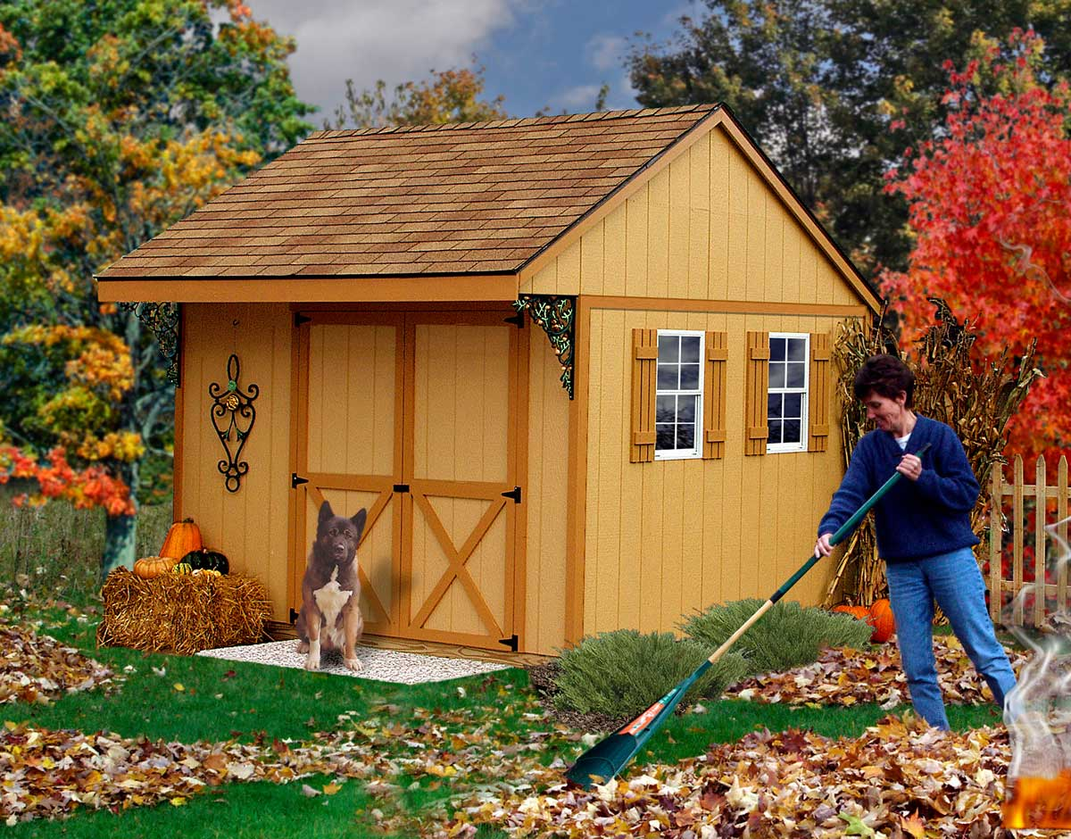 Best Barn Northwood 10 Wooden Storage Shed On Sale With