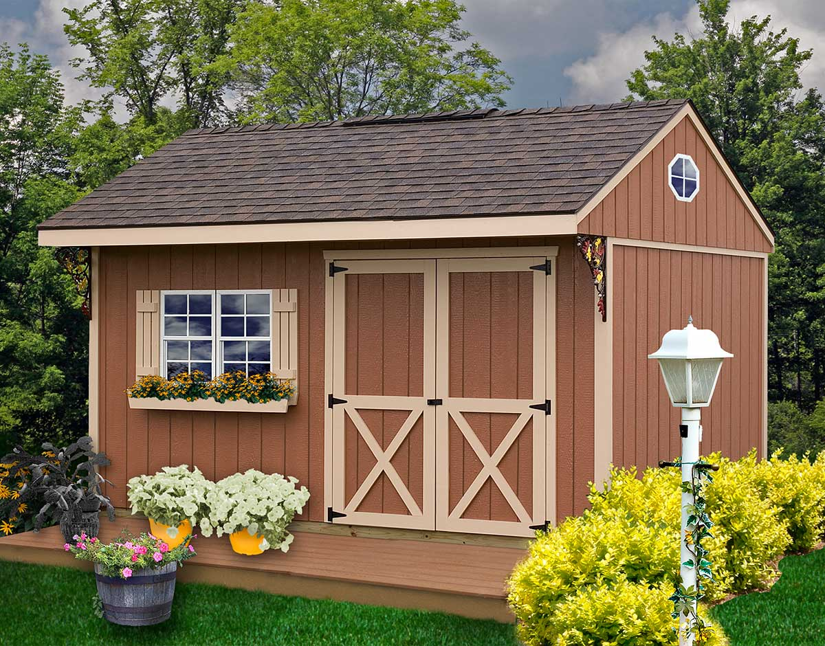 Best Barn Northwood 10' Wooden Storage Shed on Sale with ...