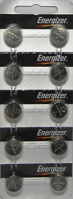10 Energizer A76 LR44 V13GA G13 L1154 AG13 1.5v Fresh Alkaline Button Batteries